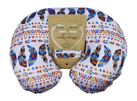 Minky Nursing Pillow CoverArrow Pattern SlipcoverBest For Breastfeeding Mo