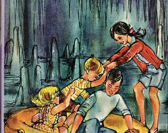 The Bobbsey Twins in the Mystery Cave - #53 - 1960 Hardcover - Free Shipping