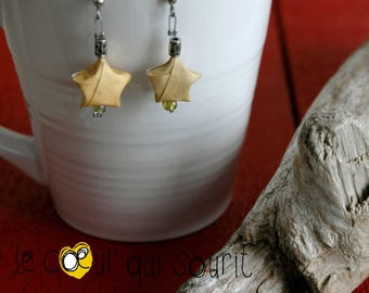 Origami (Star) - E008 earrings