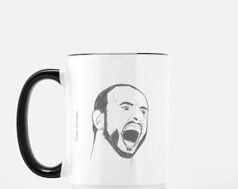 Spurs Mug x Manu Ginobili x 15 oz