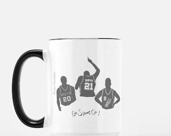 Spurs Mug x Big 3 x 15 oz