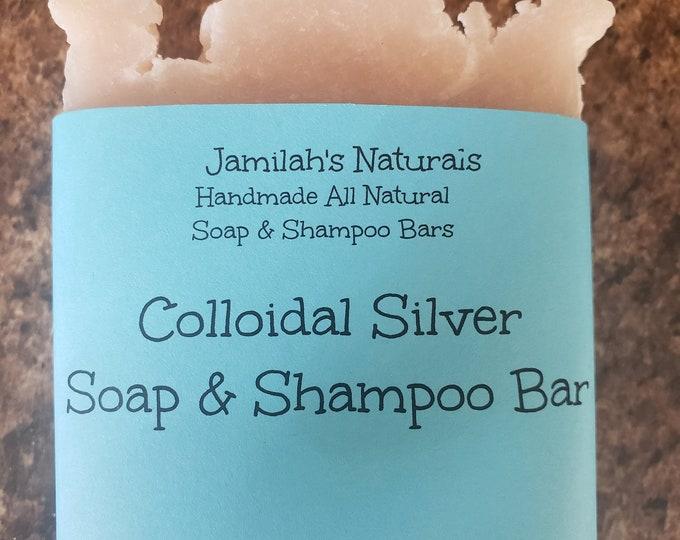 Colloidal Silver Soap & Shampoo Bar