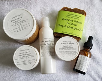 Tumeric Bath & Body Pamper Spa Set
