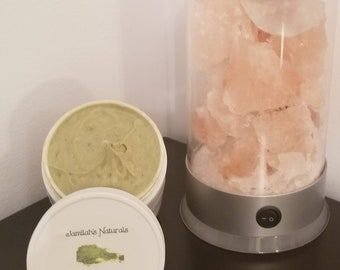 Matcha green tea & coconut whipped body butter