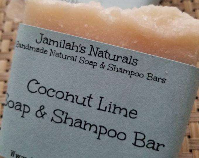 Coconut Lime Soap & Shampoo Bar