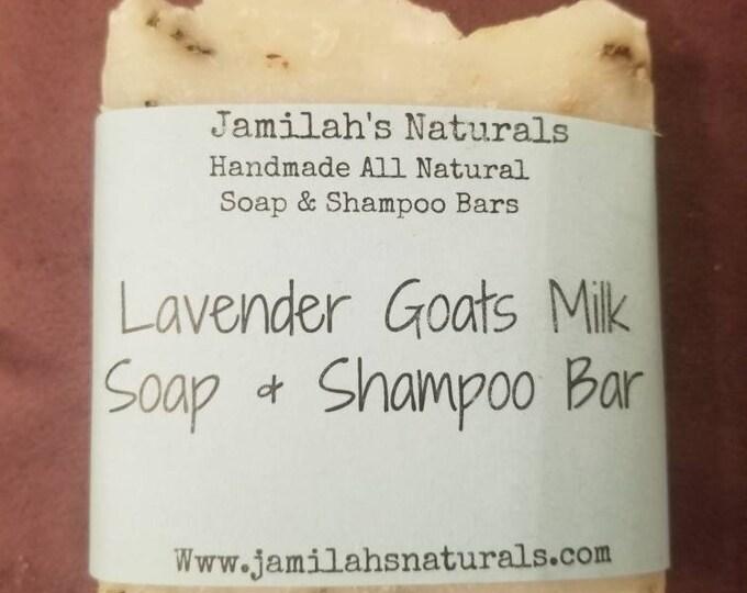 Lavender & Coconut Milk Soap Shampoo Bar