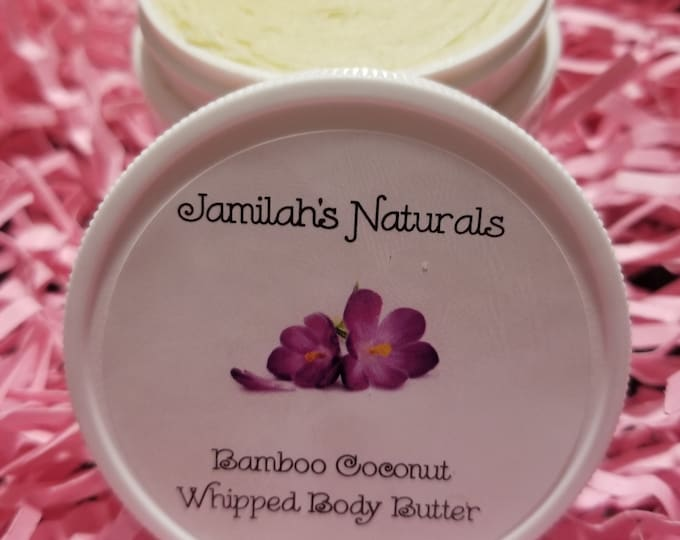 Bamboo Coconut Whipped Body Butter