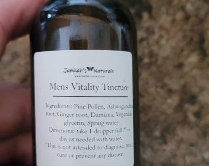 Mens Vitality Tincture