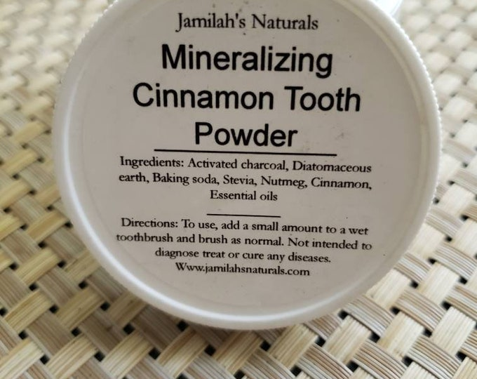 Mineralizing Cinnamon Tooth Powder