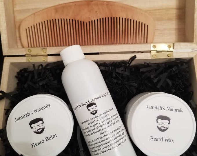Mens Beard Care Gift Sets (two to choose from)