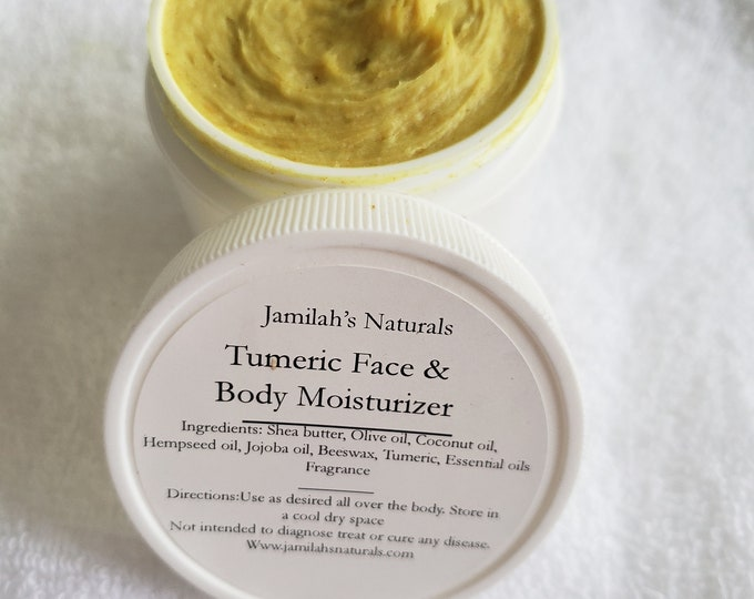 Tumeric Face & Body Moisturizer