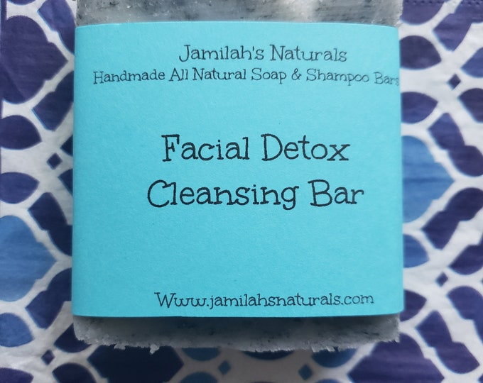 Facial Detox Cleansing Bar