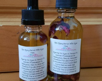 Anti Aging Facial Serum with Rosehips and Frankinsence