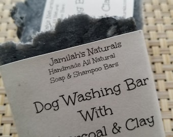 Dog Washing Soap With Charcoal And Clay