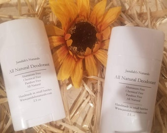 All Natural Deodorant (aluminium free)