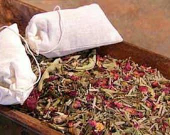 Relaxing Herbal Bath Teas