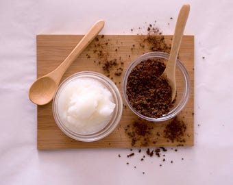 Exfoliating Coconut Coffee Scrub