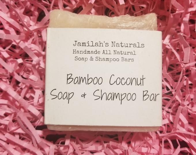 Bamboo Coconut Soap and Shampoo Bar