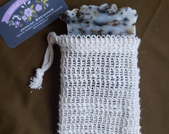 Exfoliating Bag Pouch Soap Saver (Does not include soap)