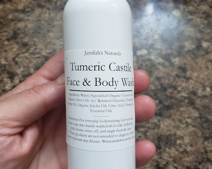 Tumeric Castile Face & Body Wash