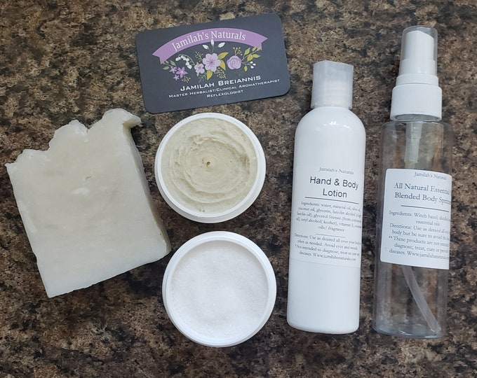 Pamper Spa Set in lots of scents
