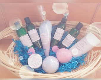 Little One's Line (Bubble Gum, Cotton candy, Baby Powder, Chocolate) (body butters, body wash, shampoo, detangler, bath bombs, deodarant)