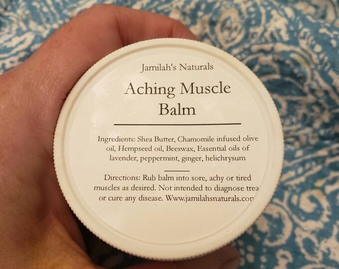 Aching Muscle Balm