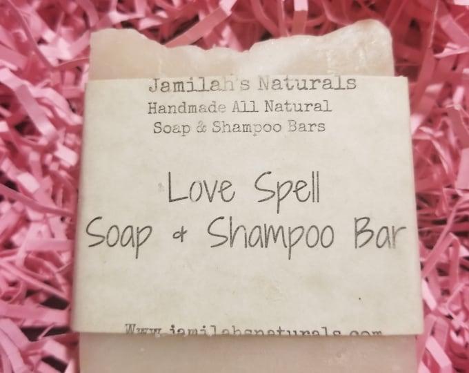 Love Spell Soap and Shampoo Bars