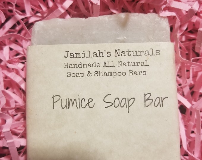 Exfoliating Pumice Soap Bar