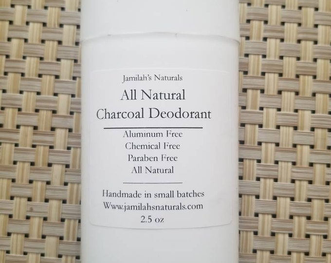 Natural Charcoal Deodarant (No Baking Soda)