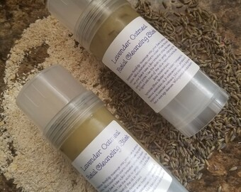 Lavender Oatmeal Facial cleansing stick