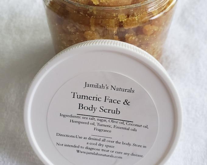Tumeric Face & Body Scrub