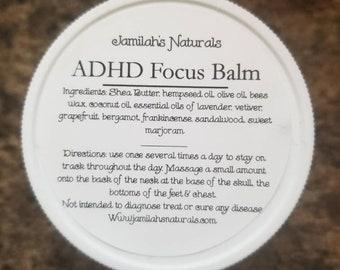 ADHD Focus Balm