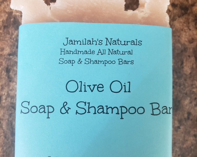 Olive Oil Soap & Shampoo Bar