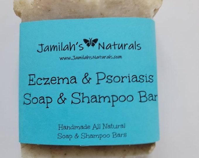 Eczema & Psoriasis Soap And Shampoo Bar