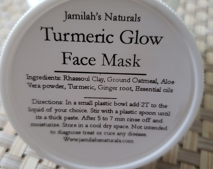 Turmeric Glow Face Mask