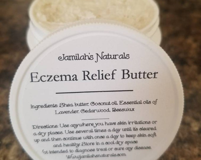 Eczema relief butter (for adults and children)