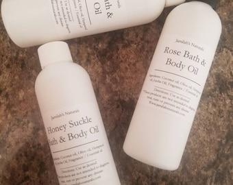 Scented Bath & Body Oils