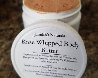Whipped Rose Butter/skin moisturizer