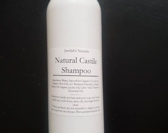 Natural Castile Shampoo for adults & babies