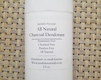 Natural Charcoal Deodarant (No Baking Soda)
