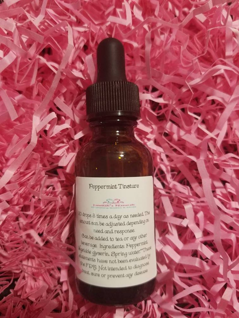 Peppermint Tincture (Alcohol Free)