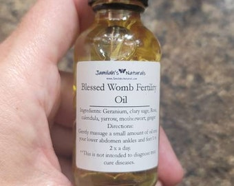 Blessed Womb Massage Oil
