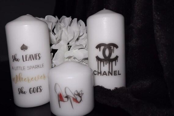 personalised engagement wedding proposal candle gift present keepsake