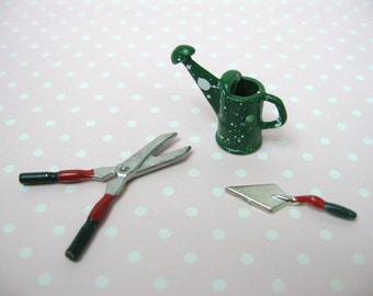 Dolls House Miniature Gardening Tools