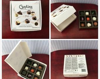 Miniature Box of Chocolates 1/12 scale