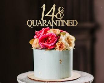 Marvelous 14Th Birthday Cake Etsy Personalised Birthday Cards Akebfashionlily Jamesorg