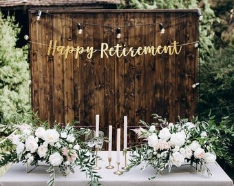 Retirement Party Decorations Etsy
