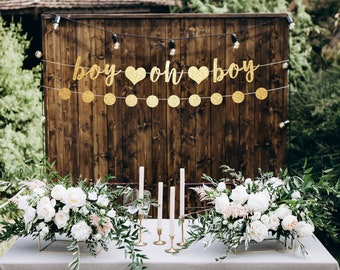 Baby Boy Shower Decorations Etsy