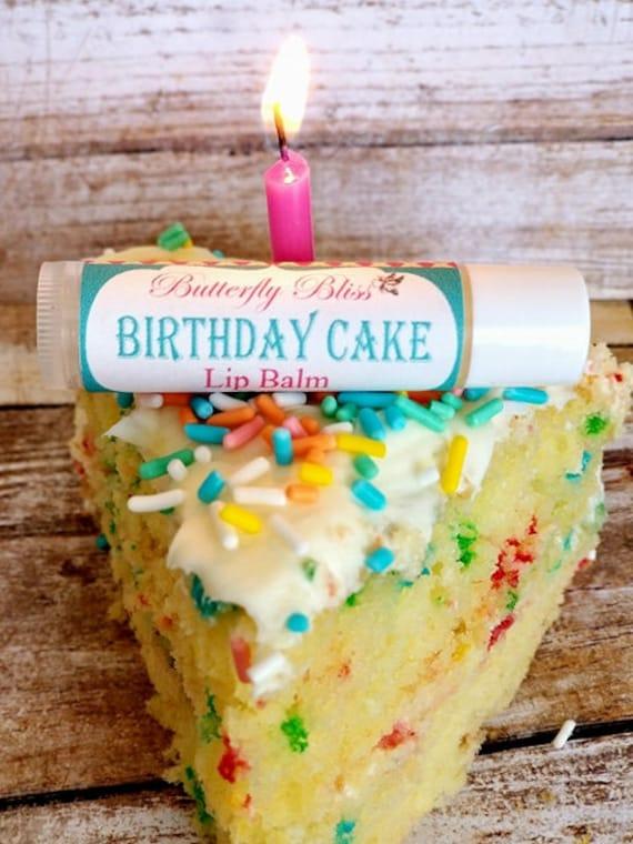 Lip Butter Birthday Cake Balm